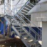 escada emergencia 002 150x150 Escada de Emergência Galvanizada a Fogo