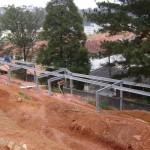 estrutura galvanizada 005 150x150 Estrutura Galvanizada a Fogo para Nivelamento de Talude