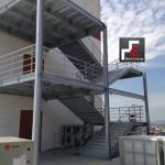 escada emergencia galvanizada hospital 016 150x150 Escada Emergência Hospital Galvanizada a Fogo