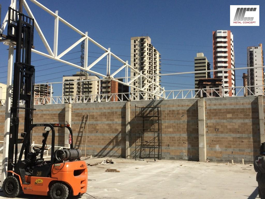 deck jardim endereco : deck jardim endereco:laje steel deck cobertura metalica 017 150×150 Estrutura para 3000m²