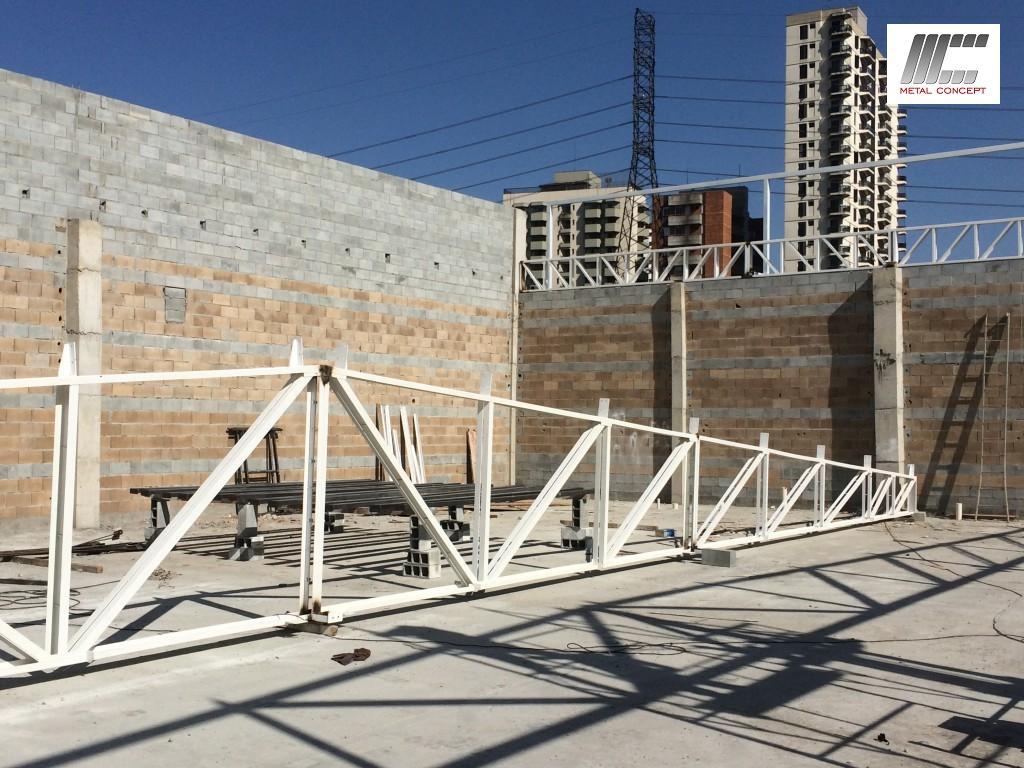 deck jardim endereco : deck jardim endereco:laje steel deck cobertura metalica 018 150×150 Estrutura para 3000m²