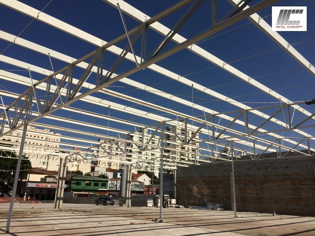deck jardim endereco : deck jardim endereco:laje steel deck cobertura metalica 019 150×150 Estrutura para 3000m²