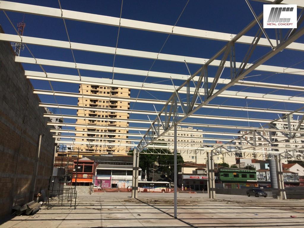 deck jardim endereco : deck jardim endereco:laje steel deck cobertura metalica 020 150×150 Estrutura para 3000m²