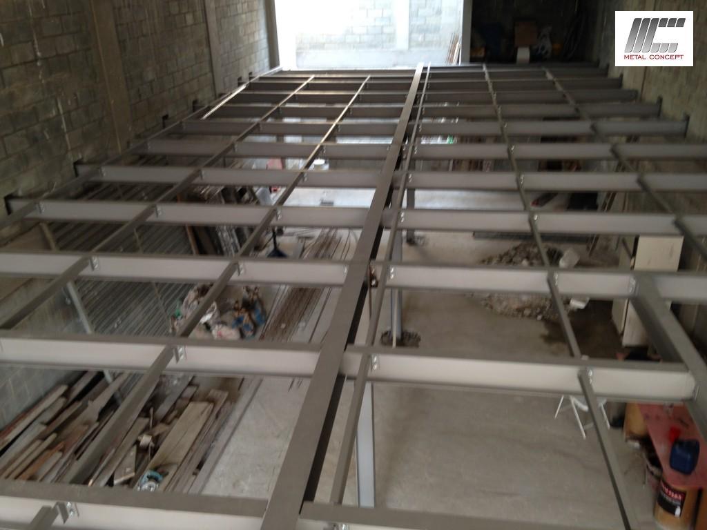 Mezanino met lico comercial placa wall escadas de acesso for Concept home com