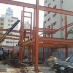 predio estrutura metalica bisutti 003 150x150 Prédio Comercial Laje Steel Deck
